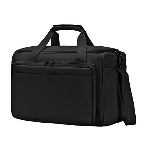 YUOTO Tactical Shooting Gun Range Bag Handgun Ammo Pistol Bag Lockable Black ()