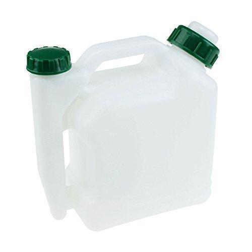 2 Takt Kraftstoff-Mischflasche 1 Liter Benzin Öl Mischermittlung 50: 1 40: 1 25: 1 20: 1 Kommt mit einem praktischen Trichter 1l