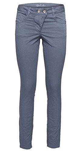 TOM TAILOR pantalón informal Mujer gris azulado