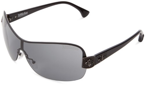 Affliction Sunglasses Moxie Shield Sunglasses Black & - Affliction Sunglasses