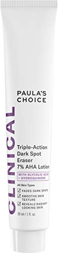(Paula's Choice CLINICAL Triple-Action Dark Spot Eraser 7% AHA Lotion | Glycolic Acid & Hydroquinone | Hyperpigmentation & Skin Lightening Cream | 1 Ounce)