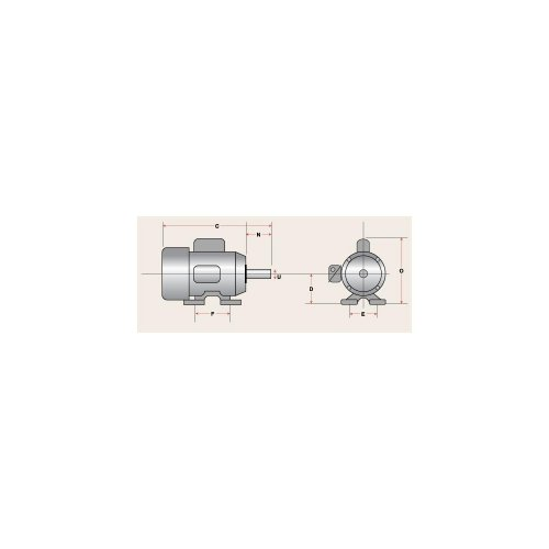 Grizzly h5383 2 hp single phase motor 110v 220v for 7 5 hp 220v single phase motor