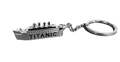 Universal Specialties Titanic Keychain Backpack Buddy Clip Bag Decoration