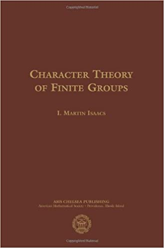 Book Character Theory of Finite Groups (AMS Chelsea Publishing)