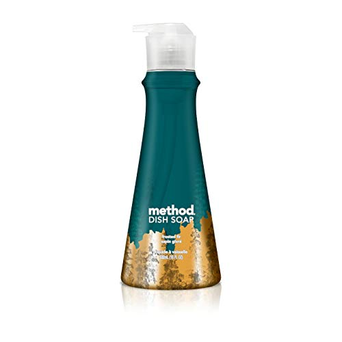 Method Frosted Fir Dish Soap, 528 ML