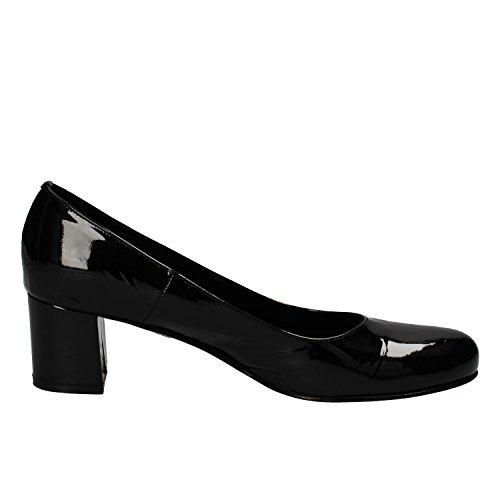 Calpierre - Zapatos de vestir de charol para mujer negro
