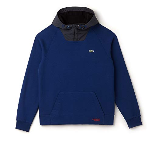 shirt Scille noir Sport phar Sweat Sh9489 graphite Homme Lacoste ET7qn