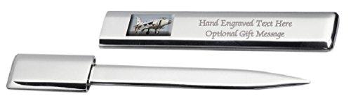 Engraved Letter Opener Harrier Jump (Jet Letter Opener)