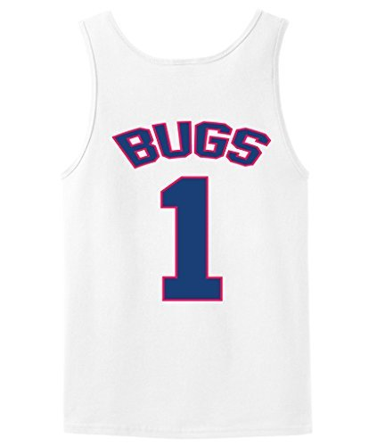 [Bugs Bunny Tune Squad Space Jam Tank Top jersey ADULT MEDIUM] (Monstars Space Jam Costumes)