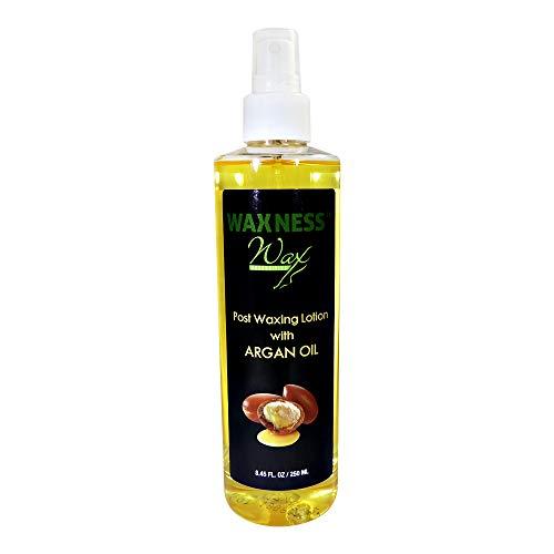 Wax Necessities Waxness Post Waxing Argan Oil Lotion 8.45 Ounces