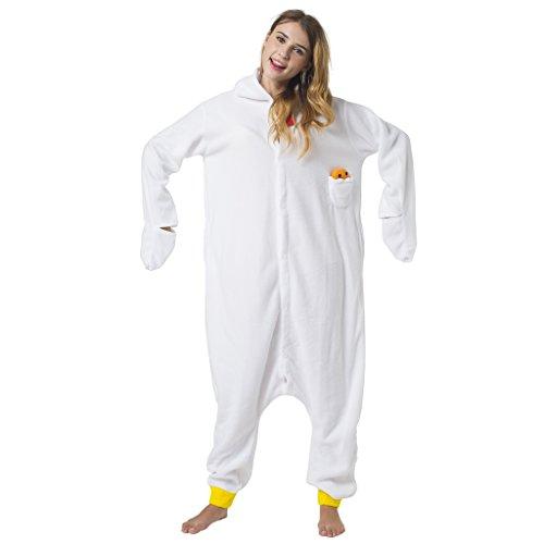 Adultes Combinaison Tenue 165cm M 155 1744 Poussin Grenouillère Kigurumi Taille Poule Katara De Pyjama Pour Nuit EpXIpq