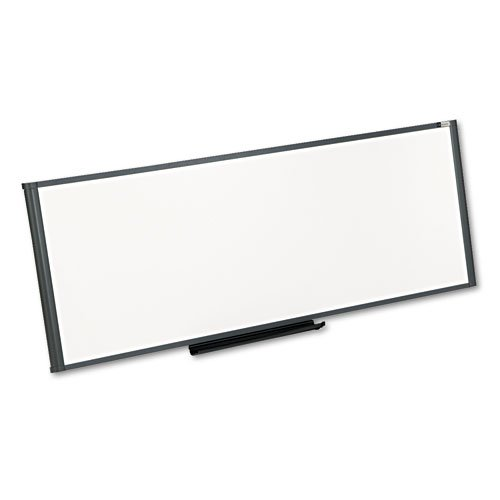 (Workstation Total Dry Erase Board, 48 x 18, White, Gray Frame, Sold as 1 Each)