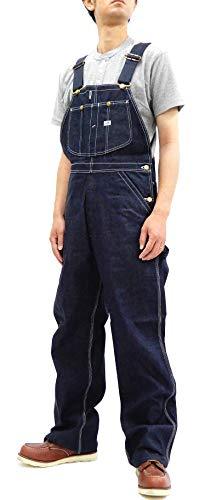 LEE 남성용 데님 턱받이 복제품 빈티지 1940s 91-SB 전체 / LEE Men`s Denim Bib Overalls Reproduction Vintage 1940s 91-SB Overall (42)