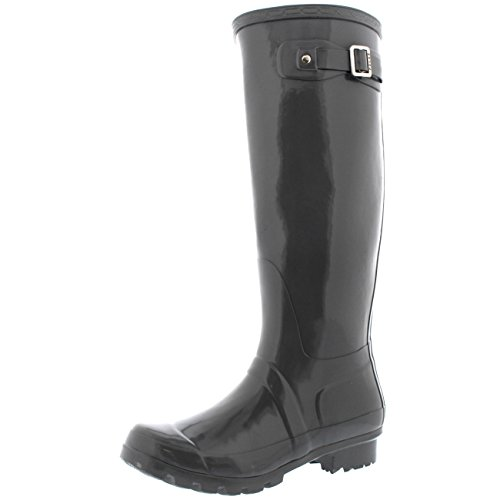 Womens Original Tall Gloss Winter Waterproof Wellies Rain We