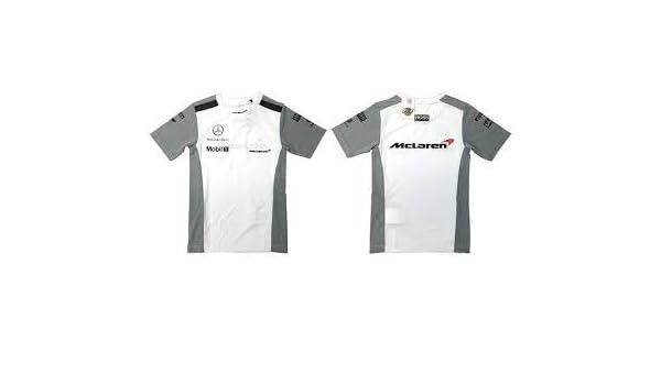 Mercedes Mclaren - Camiseta funcional Fórmula 1 F1 XXL: Amazon.es ...