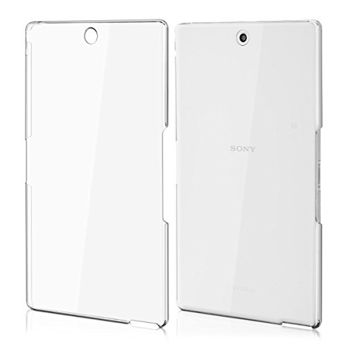 kwmobile Crystal Hülle für Sony Xperia Tablet Z3 Compact Hard Case - dünne durchsichtige transparente Tablet Schutzhülle Cover in Transparent
