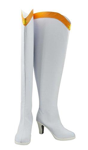 Marinaio Moon Sailor Venus Minako Aino Scarpe Cosplay Stivali Su Misura Bianco