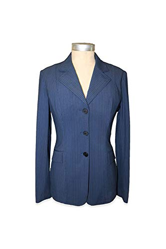 RJ Classics Ladies Monterey Hunt Coat (Navy Pinstripe, 0R)