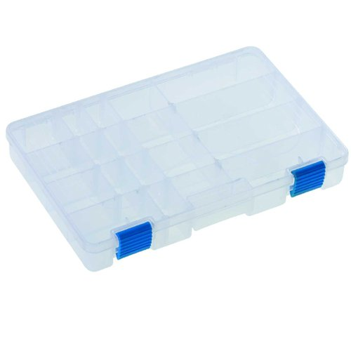 2cm 5x18x4 Jenzi Kunststoffbox Transparent 27