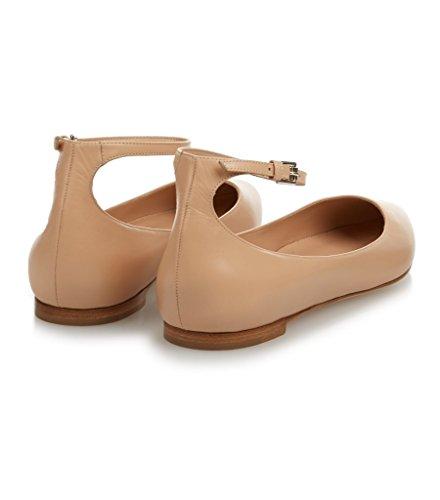 Matte Chaussures Faites Main Edefs La Demoiselles Appartements Bout À Pointu Femmes Nue Cheville Wrap Habillées D'honneur HBB6Unqv
