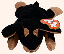 36ed21e4896 TY Teenie Beanie Babies Doby Doberman Dog Stuffed Animal Plush ...