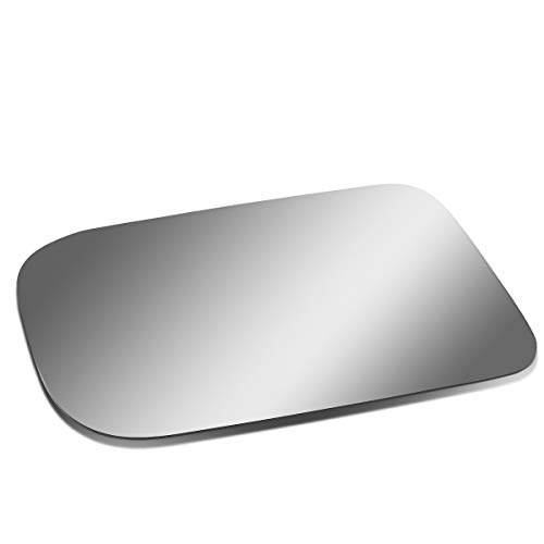 Glass Mirror Dodge W250 - Driver/Left Side Door Rear View Mirror Glass Lens Replacement for 1970-1996 Dodge P200/Dakota/Ramcharger/B150