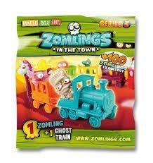 Zomlings Series 3 Ghost Train Blind Bag by Zomlings Magic Kingdom Train