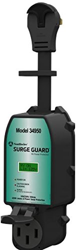 Southwire 34950 Surge Guard 50A - Full Protection Portable with LCD Display