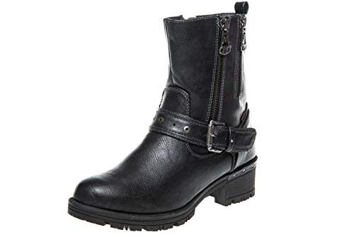Shoes Blu Donna Mustang Blu Shoes Stringate Navy Scarpe RcZwd