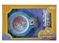 Hamtaro Dinnerware Set - big adventures 5 pcs dinnerware set