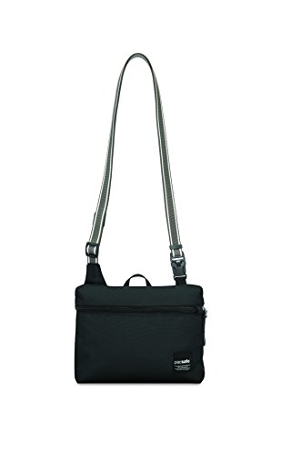 Pacsafe Slingsafe LX50 Anti-Theft Mini Cross-Body Bag, Black