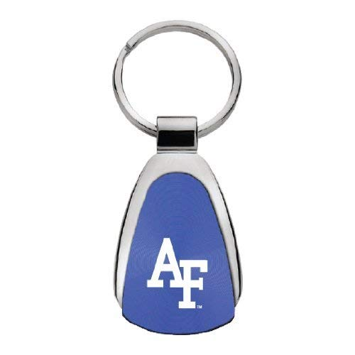 Air Force Falcons - Teardrop Keychain - Blue - AF