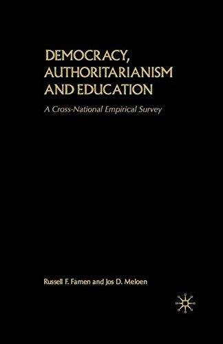Democracy, Authoritarianism and Education: A Cross-National Empirical Survey