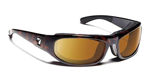 7eye Men's Whirlwind Nxt Photo Resin Sunglasses,Dark Tortoise Frame/24:7 NXT Contrast Lens,one - Sunglasses 24/7