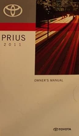 amazon com 2011 toyota prius owner manual toyota automotive books rh amazon com prius owner's manual prius owners manual 2014