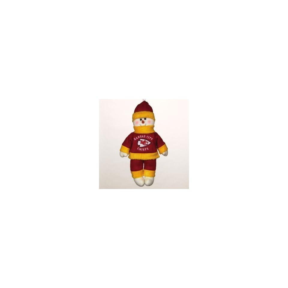 Kansas City Chiefs NFL Plush Snowflake Friend (10)