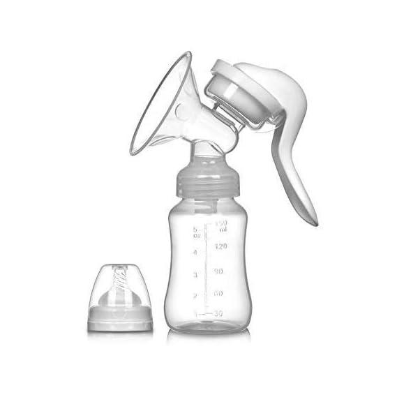 BabyGo No BPA Manual Breast Pump with Nipple Pacifier
