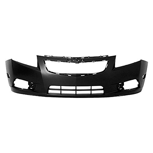MBI AUTO - Painted to Match, Front Bumper Cover Fascia for 2011 2012 2013 2014 Chevy Cruze 11 12 13 14, GM1000924 (Front Aftermarket Bumpers)