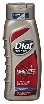 Dial Body Wash for Men, Magnetic Clean Rinse, 16 Ounce (Pack of 6)