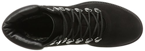Boots Military Kenova up Vagabond Army Suede Ankle Black Lace Womens Combat TzwwxHq