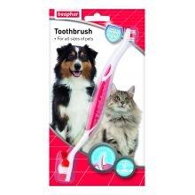 Beaphar Reino Unido Beaphar perro Cepillo de dientes sgl Pack de 1