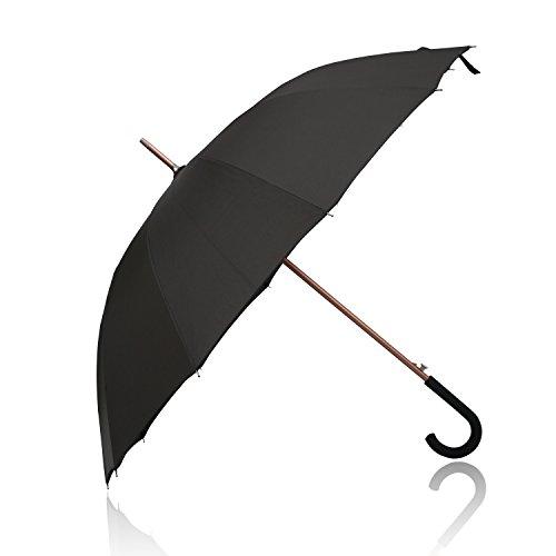 FiveMax 50 Inch J Handle Automatic Open Windproof Umbrella (Fancy Dress Swords)
