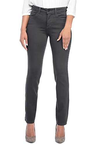 NYDJ Womens Sheri Slim Jeans in Colored Super Sculpt Denim