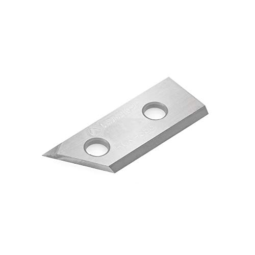 Amana Tool RCK-353 Solid Carbide V Groove Insert MDF Replacement Knife 29.8 x 12 x 1.5mm for RC-1104, RC-1107 ()