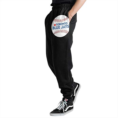 Lovesofun Toron-to Blue Ja-ys Men's Casual Jogger Sweatpants Sports Trousers Pant Elastic Waist 3XL ()