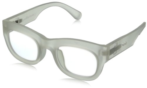 grafik:plastic Sean Wayfarer Eyeglasses,Half Clear & Clear,51 mm by grafik:plastic