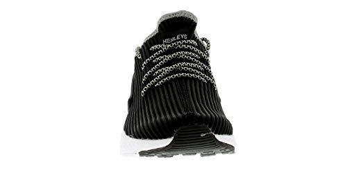 Gemini Canalé Negro 12 Henley Gb gris Malla Hombre 6 Negro Tallas Zapatillas Cordones blanco Con De z5fr0xfqZw