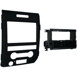 METRA - METRA 99-5820B 2009 - 2014 Ford(R) F-150 Single- or Double-DIN Installation Kit 150 Matte