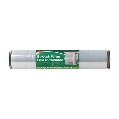 Duck Brand Stretch Wrap Roll, Clear, 20 inches by 1000 feet, 1 pack, 285850