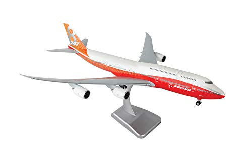 Daron Hogan Boeing House 747-8 1/200 Red Tail W/Gear